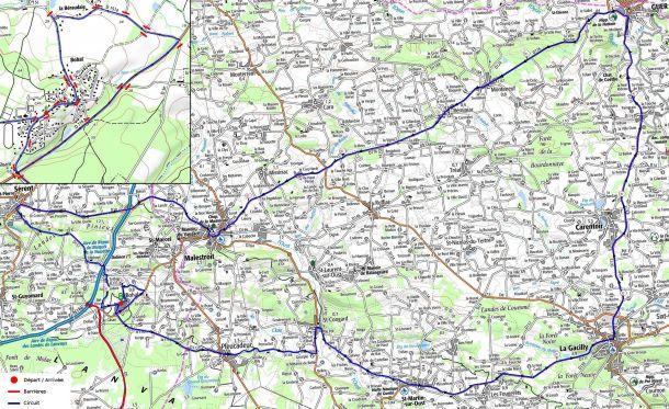 Course cycliste des Boucles du Val d'oust et de Lanvaux  à Bohal.