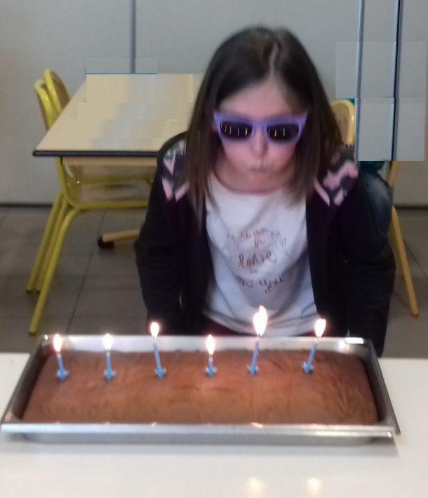 La cantine fête les anniversaires