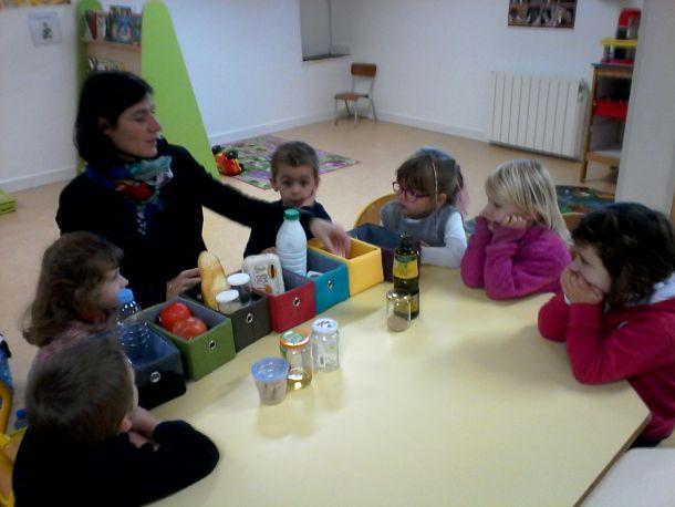 Equilibre alimentaire au restaurant scolaire et à l'école